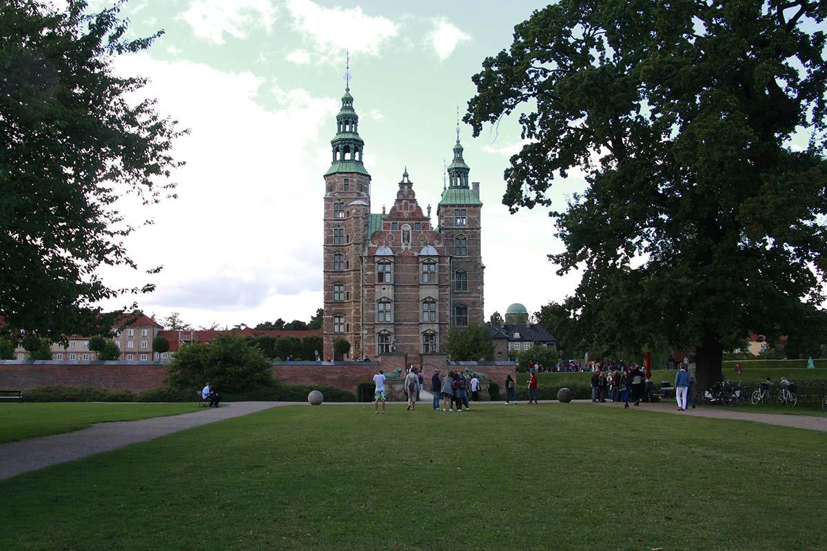 Visitar el Castillo de Rosenborg en Copenhague