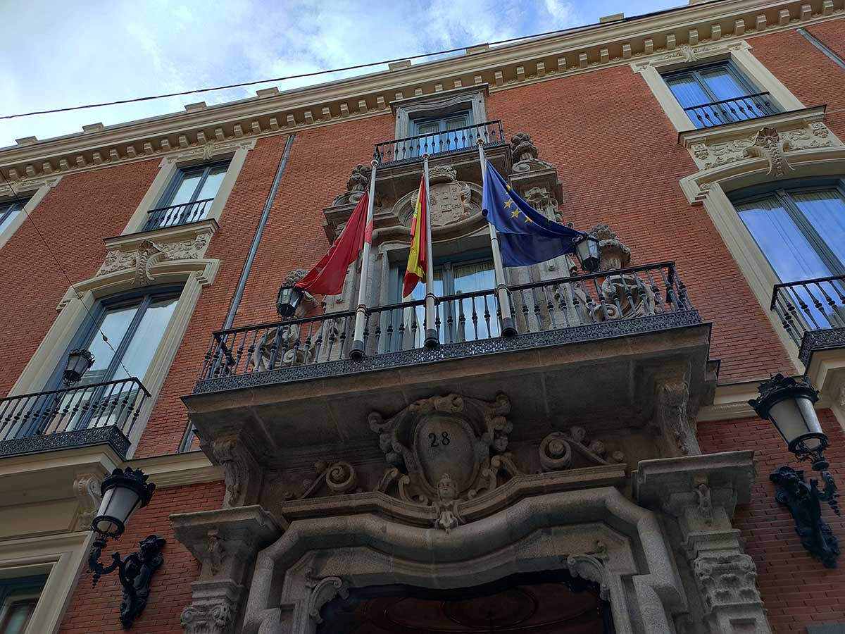 Palacio de Santoña, lujo barroco en el centro de Madrid