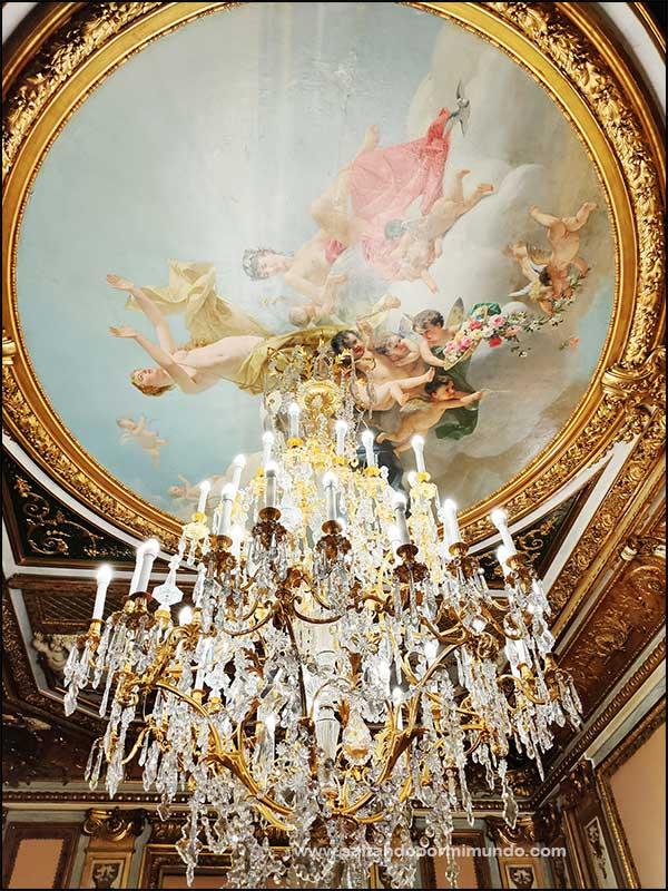 Visitar el Palacio de Santoña en Madrid.