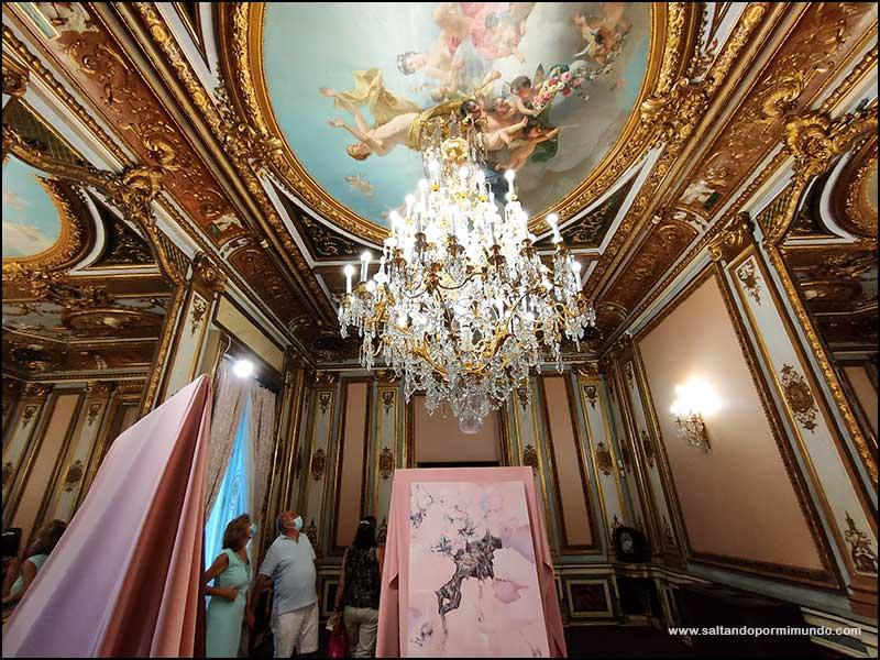 Visitar el Palacio de Santoña en Madrid